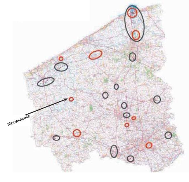 zoekzones windturbines West-Vlaanderen