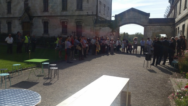 In hoofdzaak Vlaamse afstammelingen waren aanwezig op het herdenkingsmoment op 24/09/2016