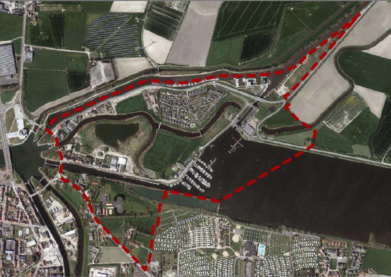 contour PRUP Kreekgebied Nieuwpoort